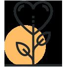 Simbolo di un cuore