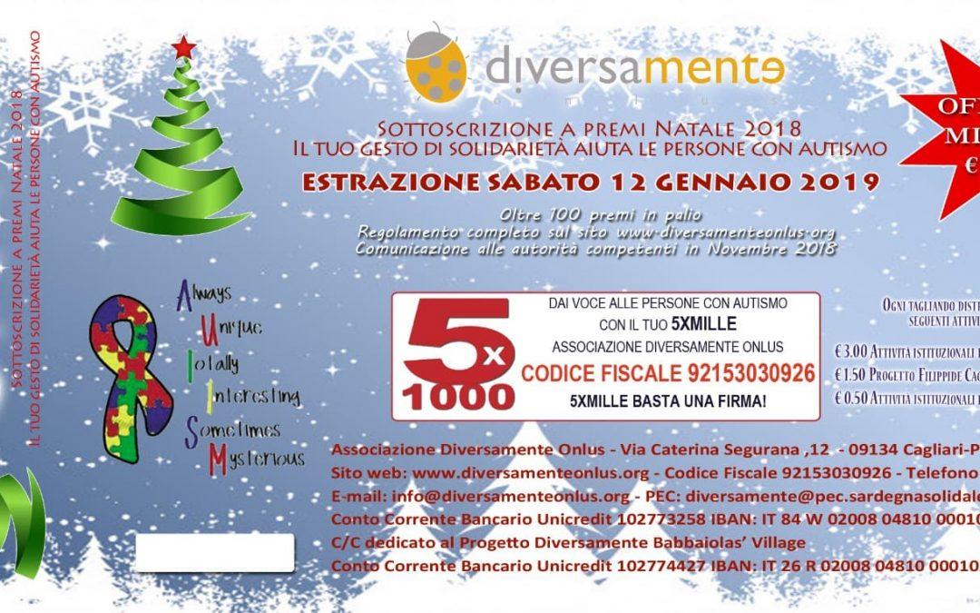 Lotteria di Natale a sostegno dei nostri progetti