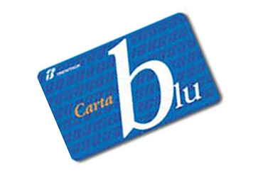 Carta Blu Trenitalia