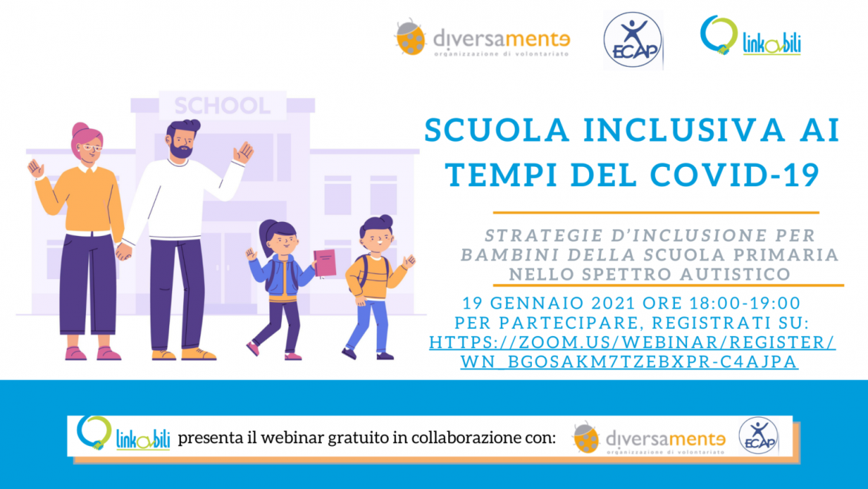 Scuola inclusiva ai tempi del COVID-19